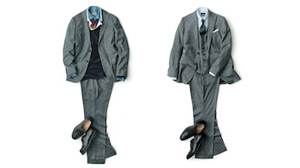 ビジネススーツはコーディネート次第で一年中着まわせる