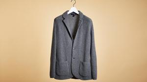 美しいシルエットが伝わるラルディーニのジャケット
