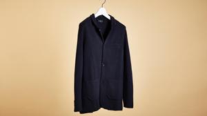 上質なモンゴルカシミヤで仕立てたN.ピールのジャケット