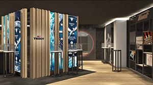 ティソの旗艦店が銀座にオープン。限定モデルの発売も!