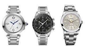 カルティエ、オメガ、ロレックス。時を超える名作腕時計