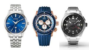 高精度の実用性と個性的な魅力を競うクオーツの腕時計