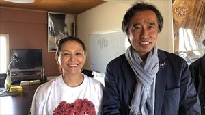 赤木雅子さんと小泉今日子さんに会う