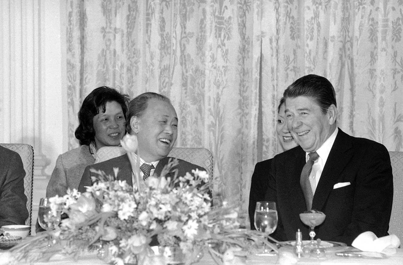 1984年|米中首脳が相互に訪問