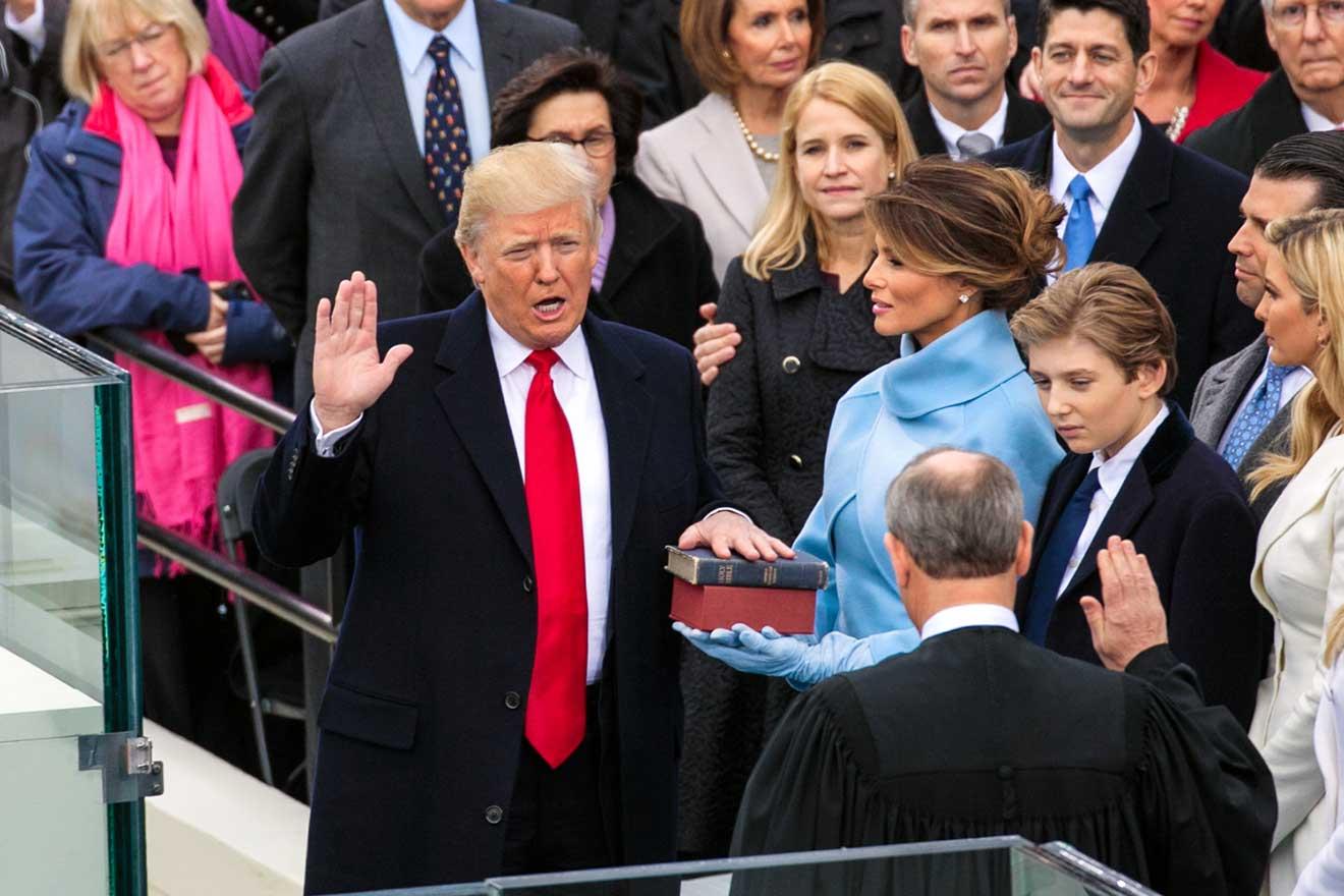 2017年|トランプ米大統領就任