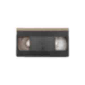 ビデオテープ/ケースには「保育所の餅つき風景」と書かれている