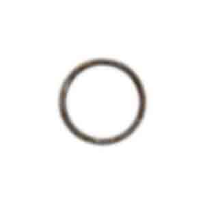 指輪/側面に「I LOVE YOU JUST AS YOU ARE」と彫られている