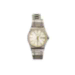 腕時計/金属部分が変色し、文字盤も腐食している