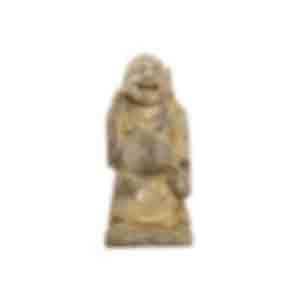 七福神の木彫り/沿岸部では漁師が多く、航行の安全や大漁を願う木彫り像が多数見つかった
