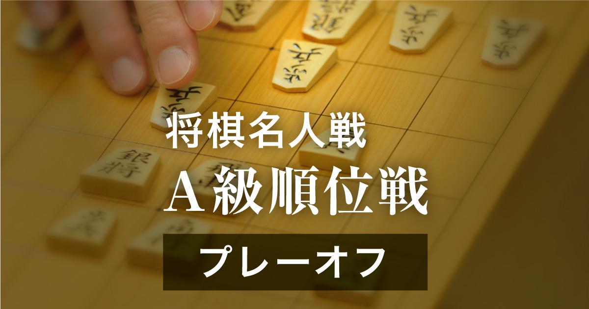 第76期将棋名人戦・A級順位戦