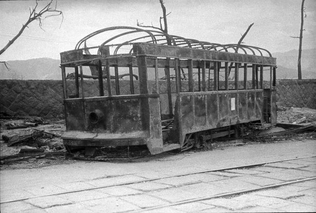 広島電鉄の150型市内電車