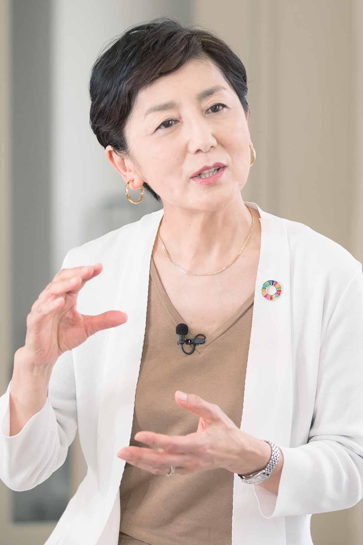 SDGs|国谷裕子さんと考える地域は世界を学ぶ窓