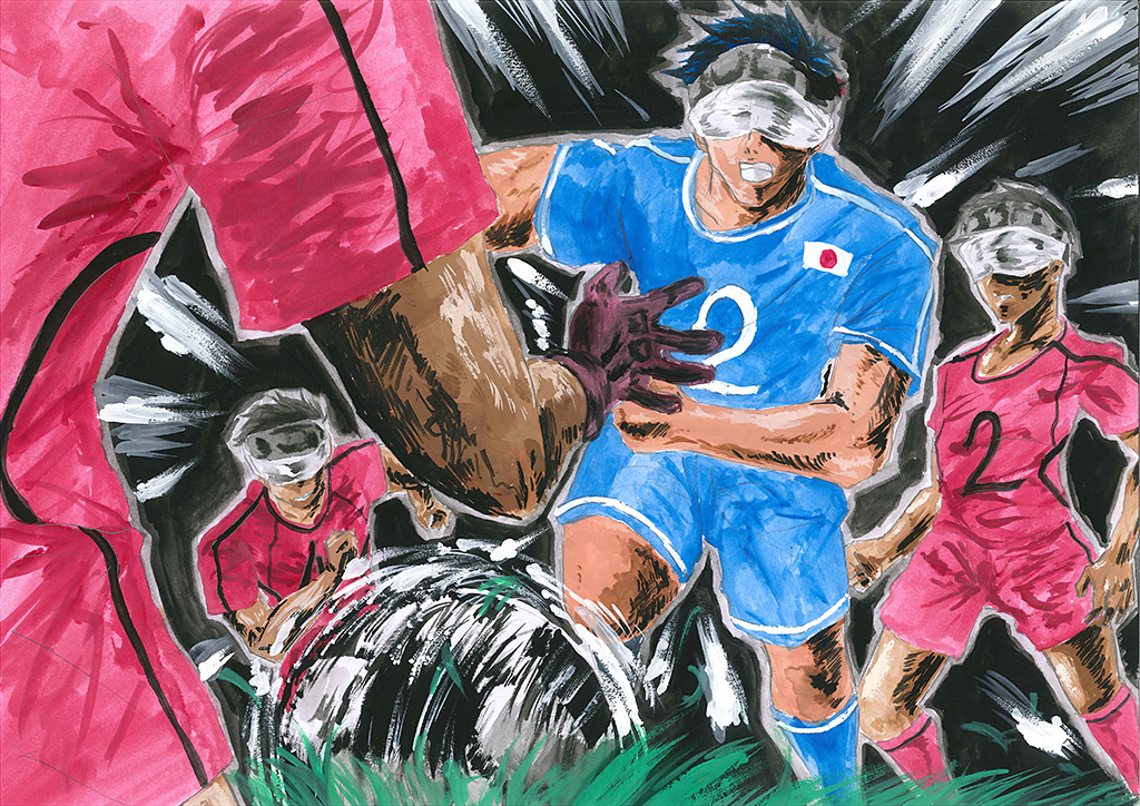 SOMPO パラリンアート・サッカーアートコンテスト