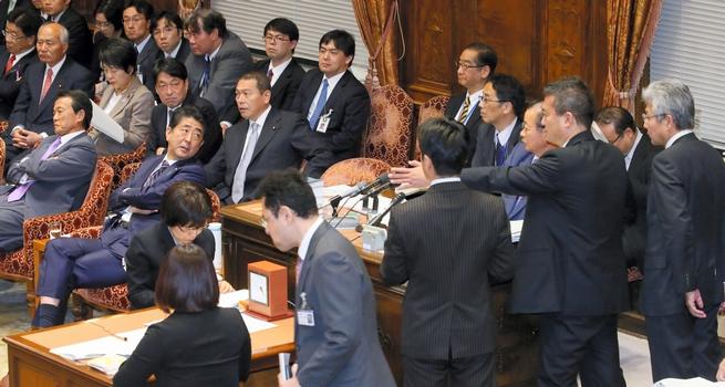 衆院予算委員会11月28日:朝日新...
