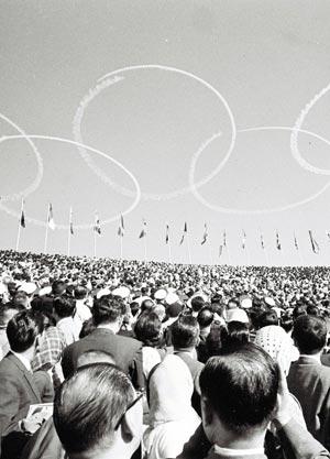 64年10月 東京オリンピック開催