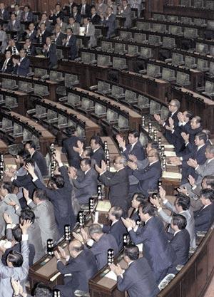 92年6月 PKO協力法成立